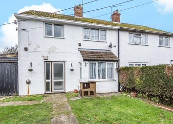 Thumbnail 3 bedroom semi-detached house for sale in Church Close, Newbury
