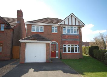 Thumbnail 4 bed detached house for sale in Wheel Avenue, Codsall, Wolverhampton