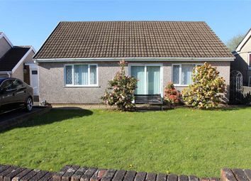 Thumbnail 3 bedroom detached bungalow for sale in Heol Will George, Waunarlwydd, Swansea