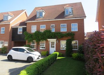 Thumbnail 6 bed link-detached house for sale in Spindler Close, Kesgrave, Ipswich