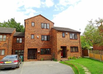 Thumbnail 4 bed town house for sale in Leach Mews, Prestwich, Prestwich Manchester