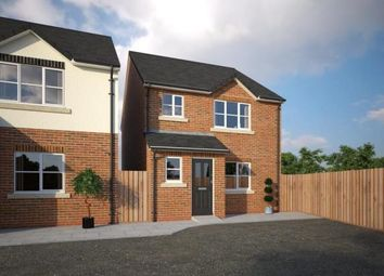 Thumbnail 3 bed detached house for sale in The Common, Knowle Lane, Buckley, Flintshire