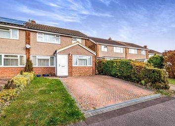 Thumbnail 3 bed semi-detached house for sale in Pevensey Road, Bedford, Bedfordshire