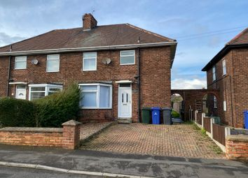 Thumbnail 3 bed semi-detached house for sale in Lake Road, Doncaster
