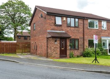 Thumbnail 3 bed semi-detached house for sale in Kiln Croft, Clayton-Le-Woods, Chorley