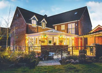Thumbnail 6 bed detached house for sale in Bullrush Lane, Great Cambourne, Cambridge