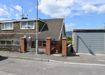 Thumbnail 3 bed semi-detached house for sale in Mount View, Twynyrodyn, Merthyr Tydfil