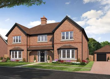 "Thumbnail 5 bed property for sale in ""The Rudgewick"" at Amlets Lane, Cranleigh"