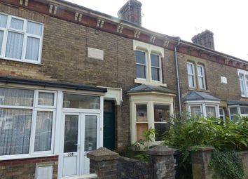 Thumbnail 2 bedroom terraced house for sale in Oundle Road, Woodston, Peterborough