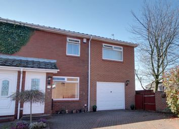 Thumbnail 4 bed semi-detached house for sale in Nedderton Close, The Boltons, Newcastle Upon Tyne