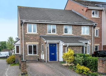 Thumbnail 3 bedroom end terrace house for sale in The Oaks, Newbury