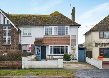 Thumbnail 3 bed semi-detached house for sale in Telscombe Cliffs Way, Telscombe Cliffs, Peacehaven