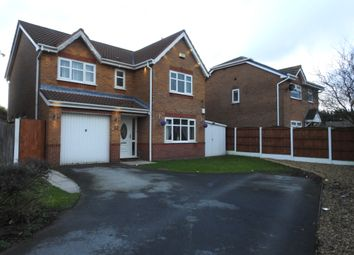 Thumbnail 4 bed detached house for sale in Wexwood Grove, Whiston, Prescot