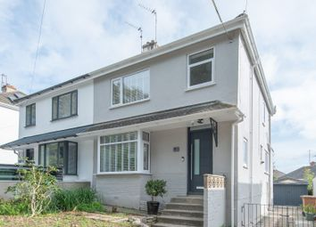 Thumbnail 3 bed semi-detached house for sale in Reservoir Road, Plymstock, Plymouth, Devon
