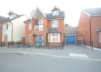 Thumbnail 4 bed detached house to rent in Bluebell Crescent, Woodley, Reading