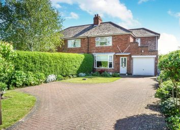 Thumbnail 3 bed semi-detached house for sale in Greetwell Lane, Nettleham