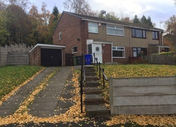 Thumbnail 3 bed semi-detached house to rent in Belvedere Drive, Dukinfield