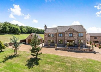 Thumbnail 6 bed detached house for sale in Roe Park, Mow Cop, Stoke-On-Trent