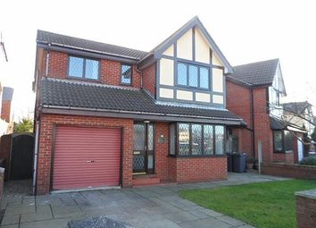 Thumbnail 4 bed detached house for sale in Barton Avenue, Knott End On Sea
