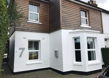 Thumbnail 3 bedroom semi-detached house for sale in Valley Road, River, Dover