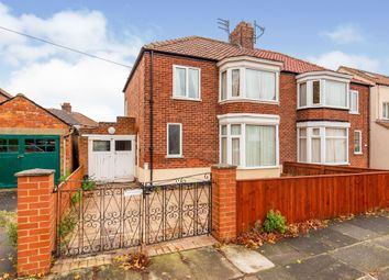 Thumbnail 3 bed semi-detached house for sale in Benton Road, Middlesbrough
