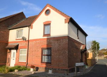 Thumbnail 2 bed end terrace house for sale in Carroll Road, Plymouth, Devon