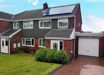 Thumbnail 3 bedroom semi-detached house for sale in Tenby Court, Caerphilly