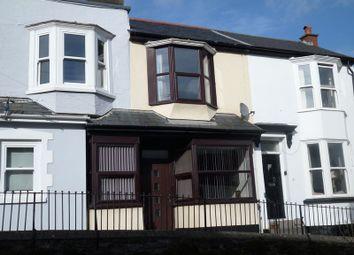 Thumbnail 3 bed terraced house to rent in Meddon Street, Bideford