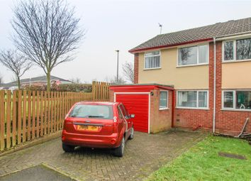 Thumbnail 3 bedroom semi-detached house for sale in St. Johns Close, Walsall Wood, Walsall