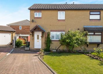 Thumbnail 2 bed semi-detached house for sale in Sandall View, Dinnington, Sheffield