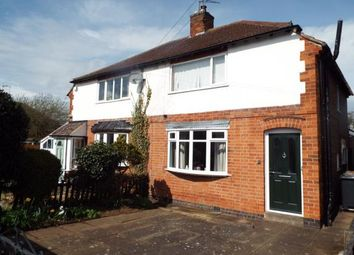 Thumbnail 3 bedroom semi-detached house for sale in Iris Avenue, Birstall, Leicester, Leicestershire