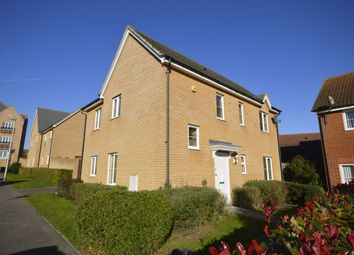 Thumbnail 3 bed detached house to rent in Rivenhall Way, Hoo, Rochester