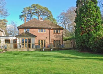 Thumbnail 4 bed detached house for sale in Hinton Wood Avenue, Highcliffe, Christchurch