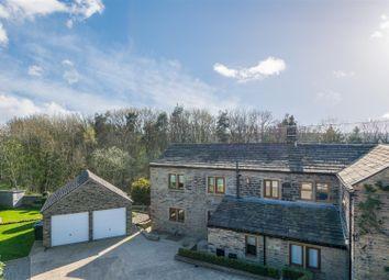 Thumbnail 4 bedroom farmhouse for sale in Apperley Lane, Apperley Bridge, Bradford