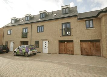 Thumbnail 4 bed terraced house to rent in Wren Close, St. Ives, Huntingdon