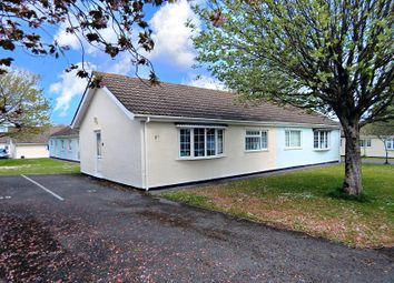 Thumbnail 2 bedroom semi-detached bungalow for sale in Gower Holiday Village, Scurlage, Swansea, West Glamorgan.