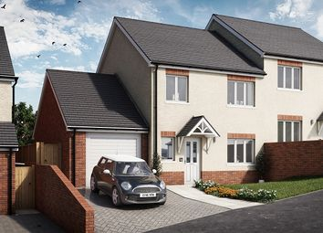 Thumbnail 3 bed semi-detached house for sale in Cedar, Plot 18 Waunsterw, Rhydyfro, Pontardawe.