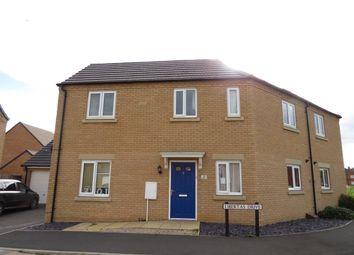Thumbnail 3 bed semi-detached house for sale in Libertas Drive, Peterborough