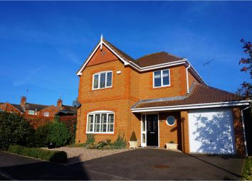Thumbnail 4 bed detached house for sale in Hazelden Close, Wollaston