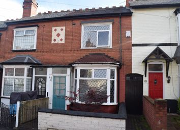 Thumbnail 2 bed terraced house for sale in Pargeter Road, Bearwood