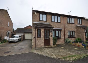 Thumbnail 3 bed semi-detached house for sale in Chelmer Close, Kirby Cross