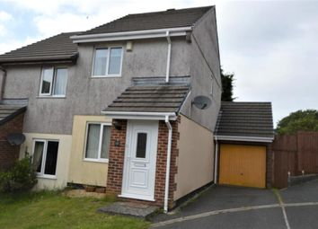 Thumbnail 2 bed semi-detached house to rent in Kingsley Court, Fraddon, St. Columb, Cornwall