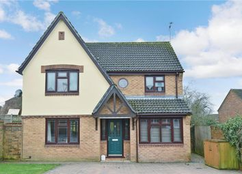 Thumbnail 4 bed detached house for sale in Amberley Road, Clanfield, Waterlooville, Hampshire