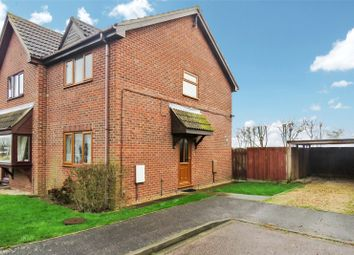 Thumbnail 2 bed semi-detached house for sale in Aversley Road, Sawtry, Huntingdon