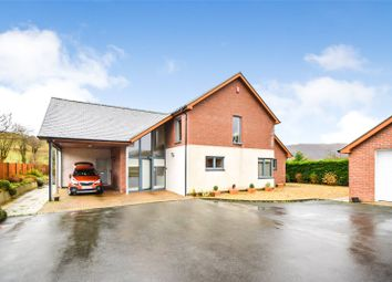 Thumbnail 4 bed detached house for sale in Garth Road, Machynlleth, Powys
