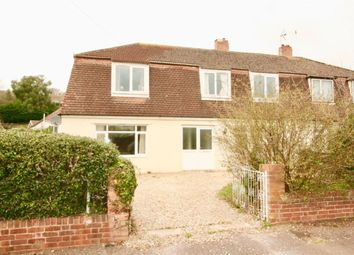 Thumbnail 1 bed semi-detached house to rent in Valley Road, Exwick, Exeter