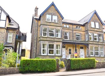 Thumbnail 1 bed flat to rent in Harlow Moor Drive, Harrogate