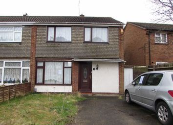 Thumbnail 3 bedroom semi-detached house for sale in Angus Close, Luton