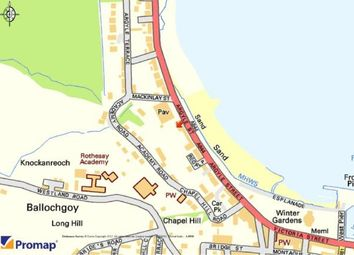 Thumbnail Land for sale in Grand Marine Court, Argyle Street, Rothesay, Isle Of Bute