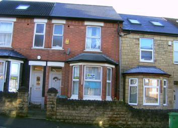 Thumbnail 4 bed terraced house to rent in Balfour Road, Nottingham